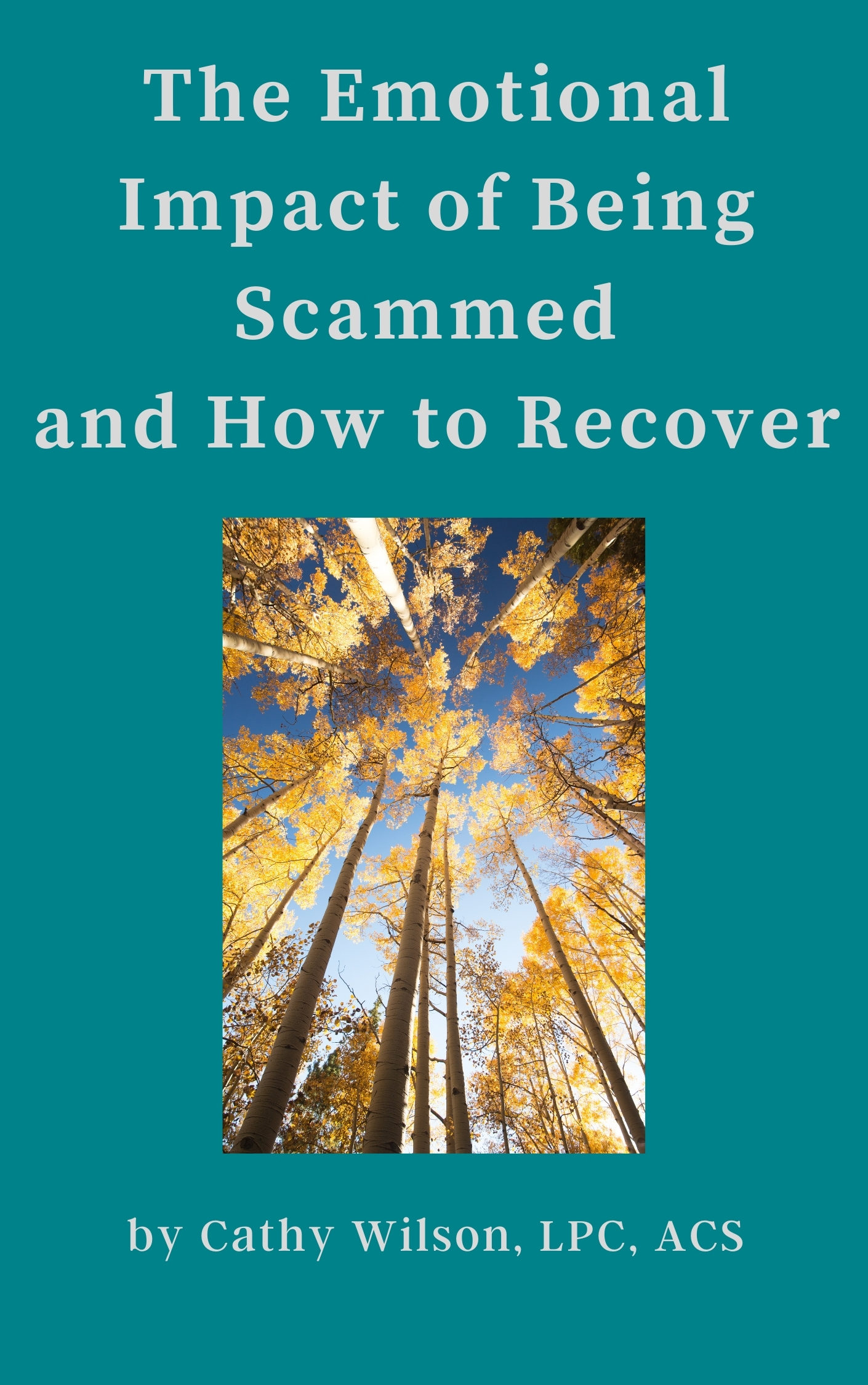 book about recovering from being scammed